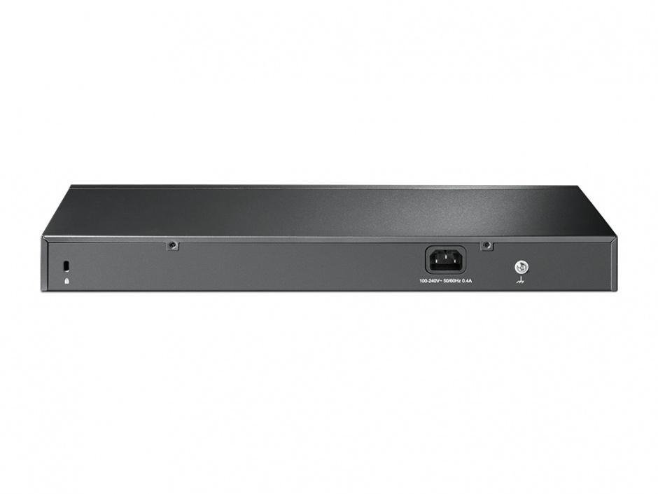 Imagine Switch Smart JetStream Gigabit 16 porturi + 2 sloturi SFP, TP-LINK