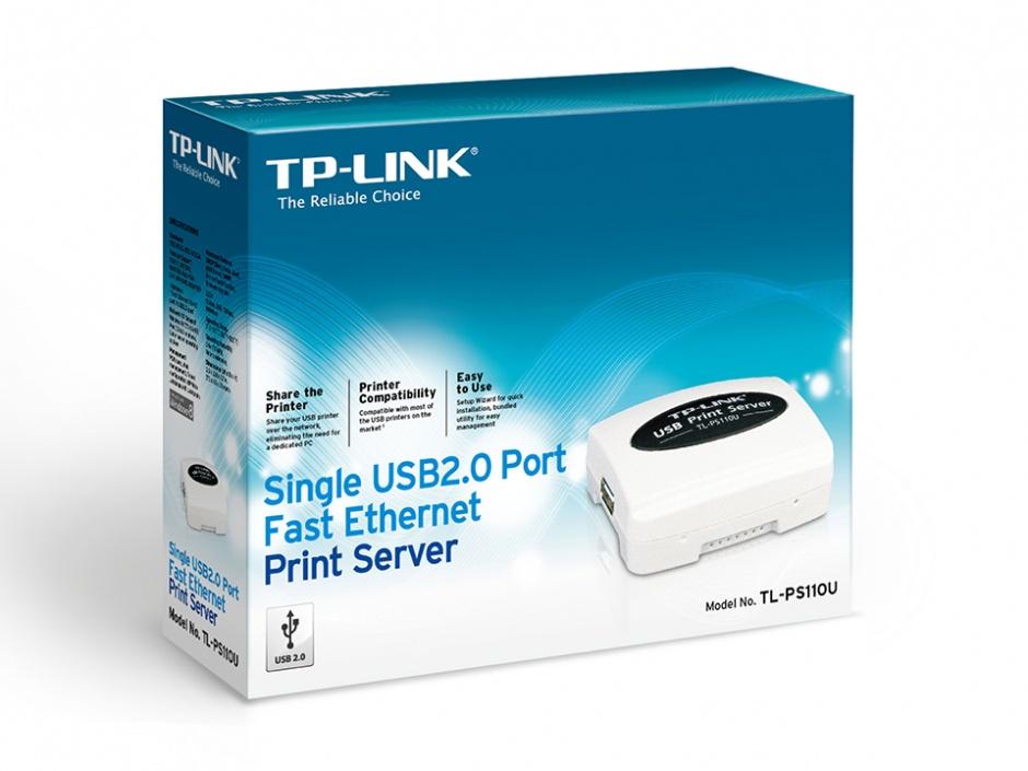 Imagine Print Server Fast Ethernet USB 2.0, TP-LINK TL-PS110U-1