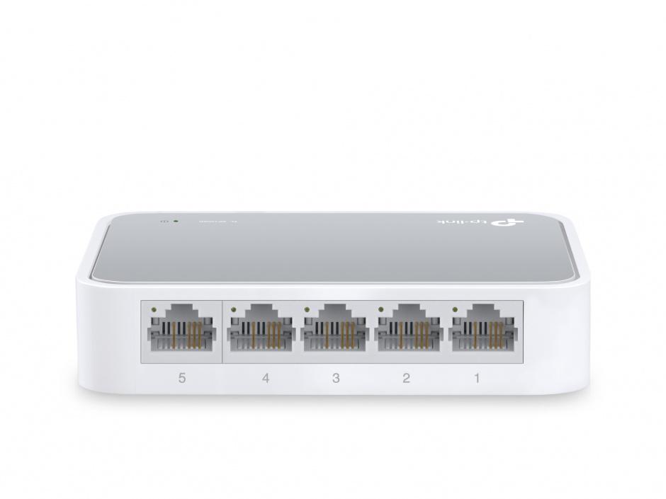 Imagine Switch 5 porturi 10/100 Mbps, TP-LINK TL-SF1005D-2