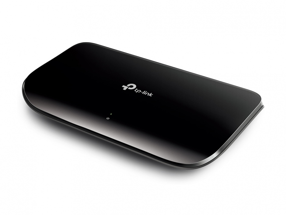 Imagine Switch 8 Porturi Gigabit, TP-LINK TL-SG1008D-1