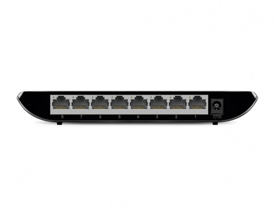 Imagine Switch 8 Porturi Gigabit, TP-LINK TL-SG1008D-3