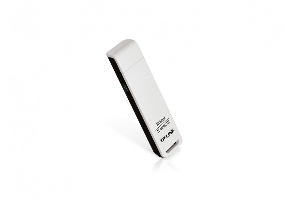 Imagine Placa Retea Wireless USB 300Mb/s, TP-LINK TL-WN821N