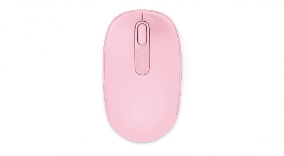 Imagine Mouse wireless Mobile 1850 Pink, Microsoft U7Z-00023