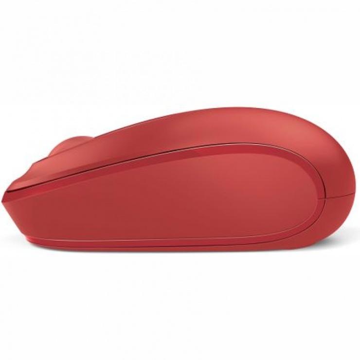 Imagine Mouse Wireless optic Mobile 1850 rosu, Microsoft