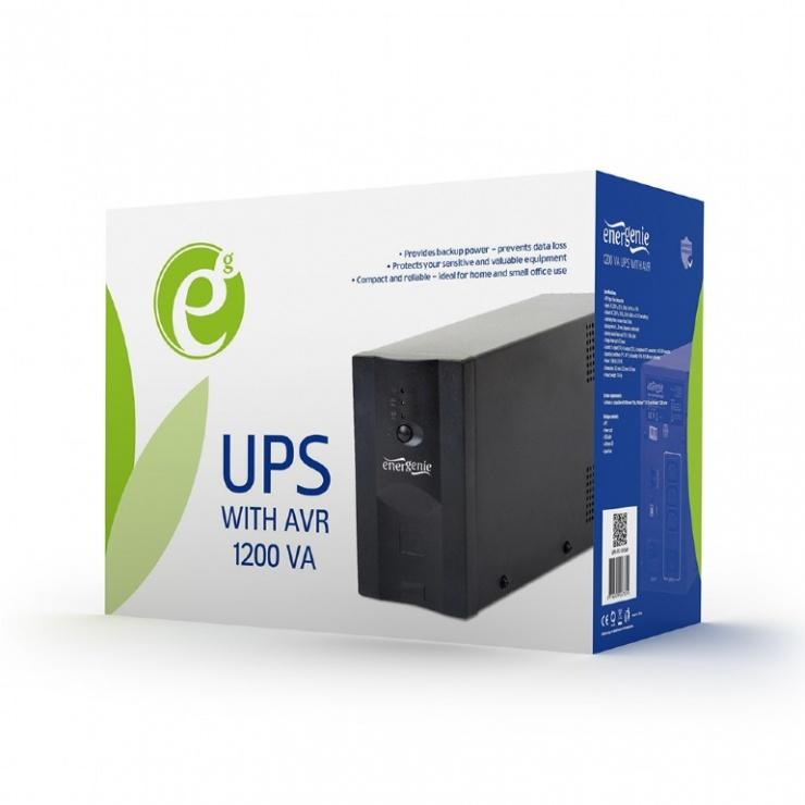 Imagine UPS Gembird 1200VA (AVR), UPS-PC-1202AP-2
