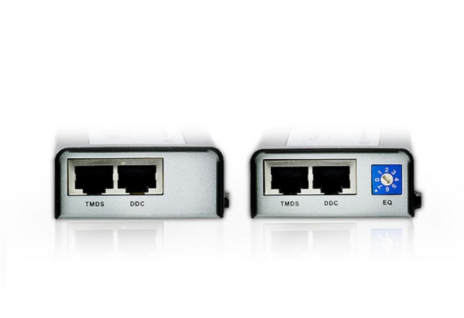Imagine Extender HDMI prin cablu RJ 45 cat 5e 40m, ATEN VE810