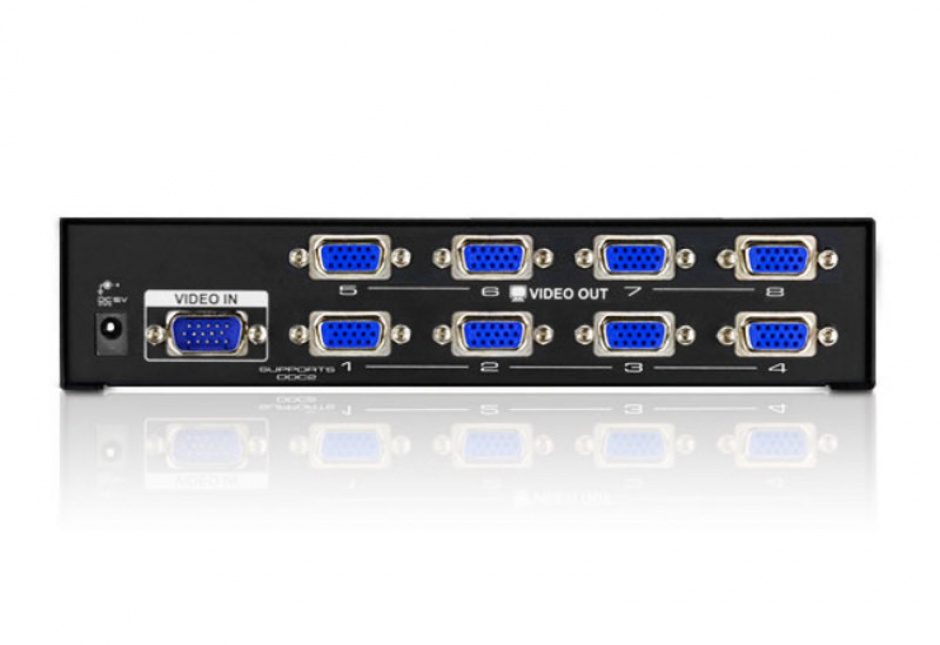 Imagine Multiplicator VGA 8 porturi, 450Mhz, ATEN VS138A-1