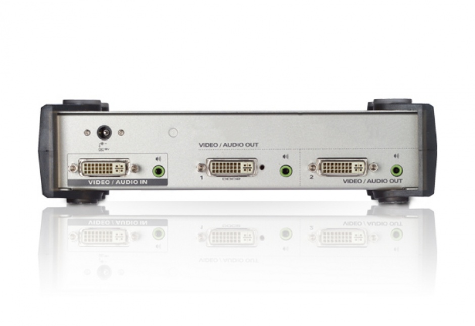 Imagine Multiplicator DVI 2 porturi cu audio, ATEN VS162-1