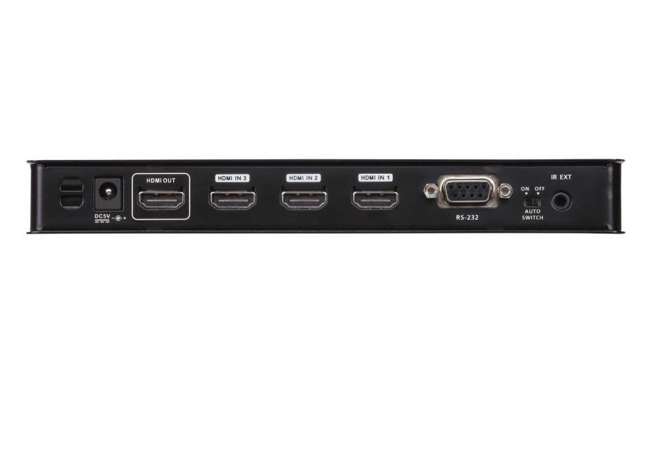 Imagine Switch HDMI cu 4 porturi True 4K HDR,  ATEN VS481C