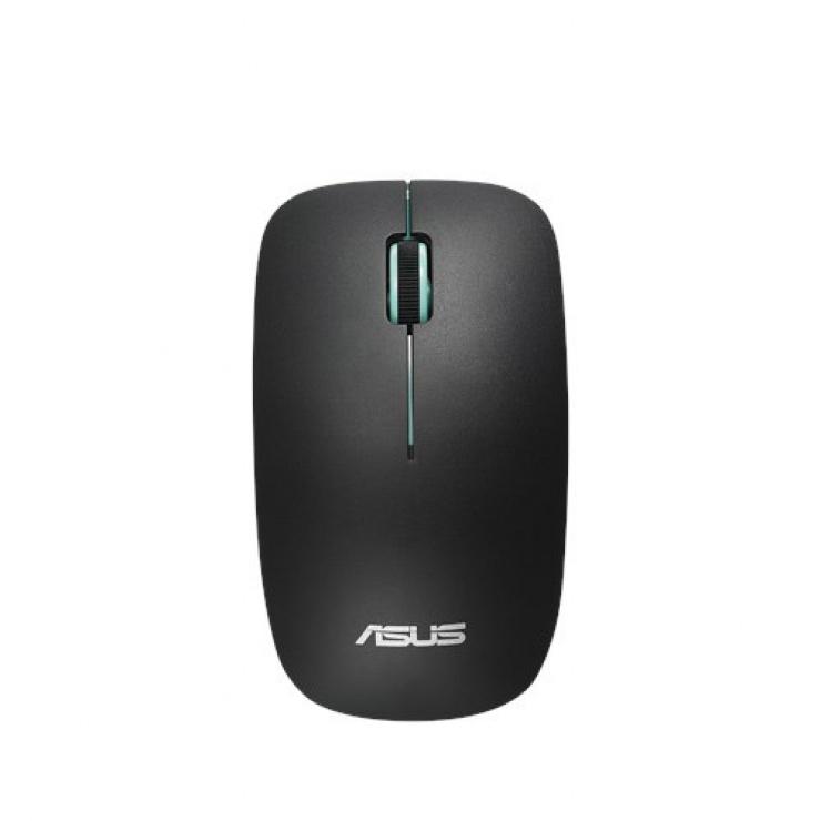 Imagine Mouse optic wireless Negru/Blue, Asus WT300