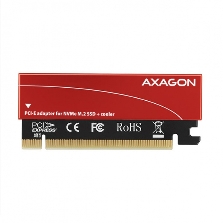 Imagine Adaptor PCI Express la M.2 NVME, Axagon PCEM2-S-7