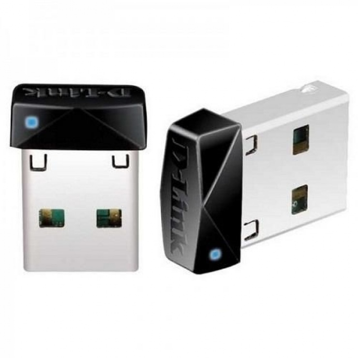 Imagine Adaptor wireless USB N150 micro, D-LINK DWA-121