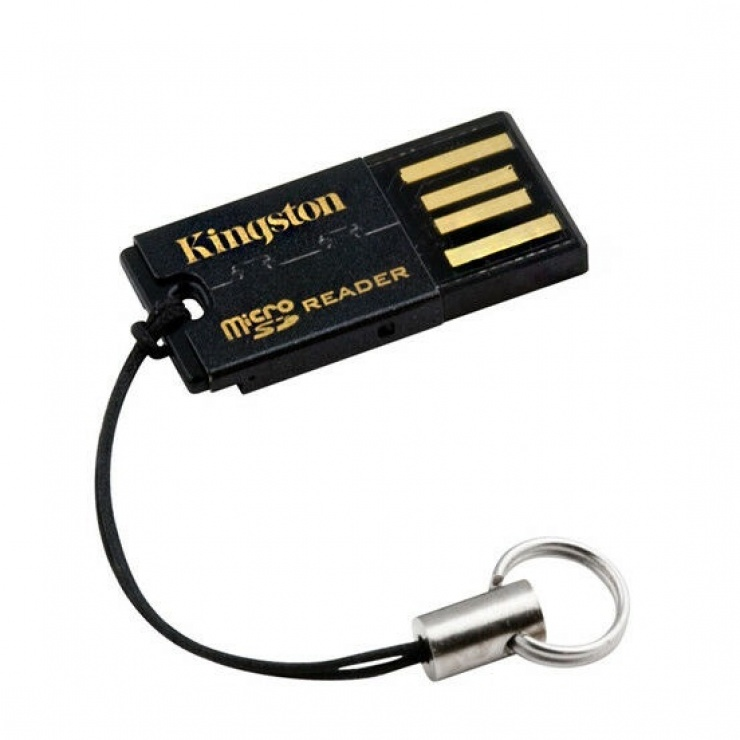 Imagine Cititor de carduri USB 2.0 la micro SD/micro SDHC/micro SDXC, KINGSTON FCR-MRG2