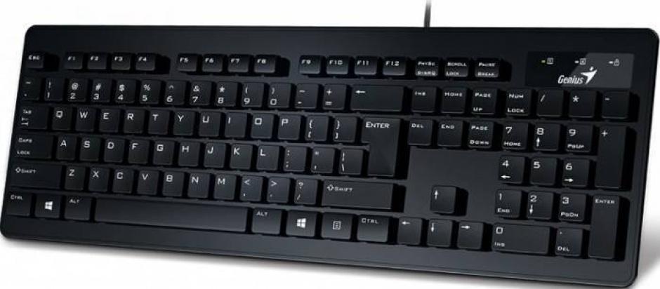 Imagine Tastatura Genius USB SLIMSTAR 130