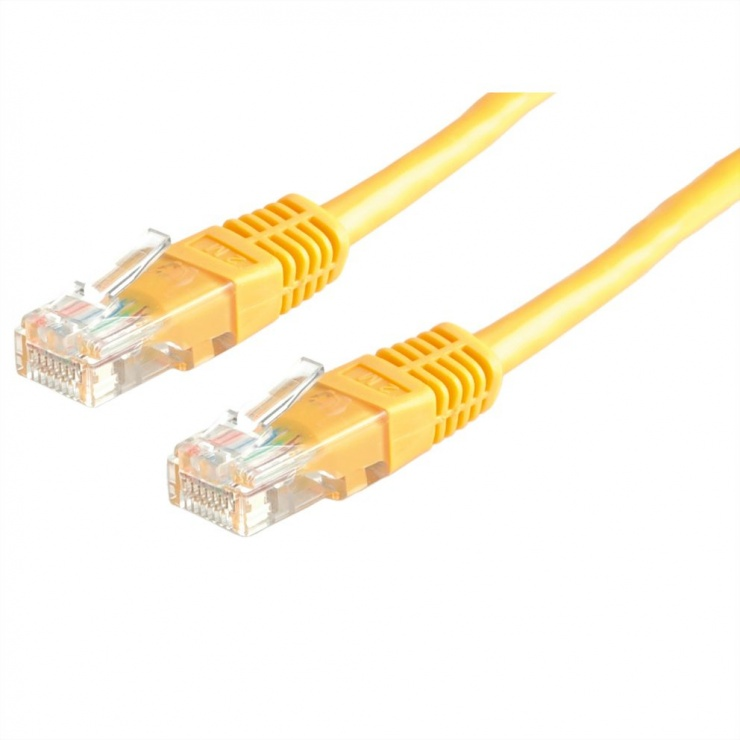 Imagine Cablu de retea RJ45 MYCON UTP Cat.6 3m Galben, CON1552