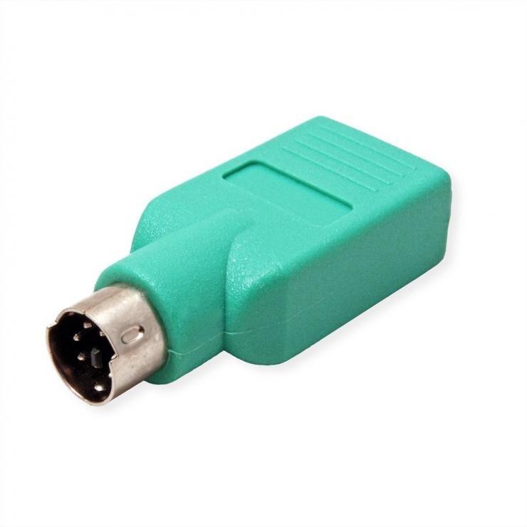 Imagine Adaptor PS/2 la USB pentru mouse T-M, Value 12.99.1072-2
