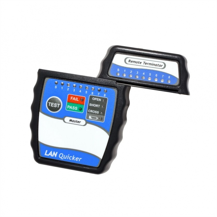 Imagine Tester retea RJ45 indicator LED, Value 13.99.3001-2