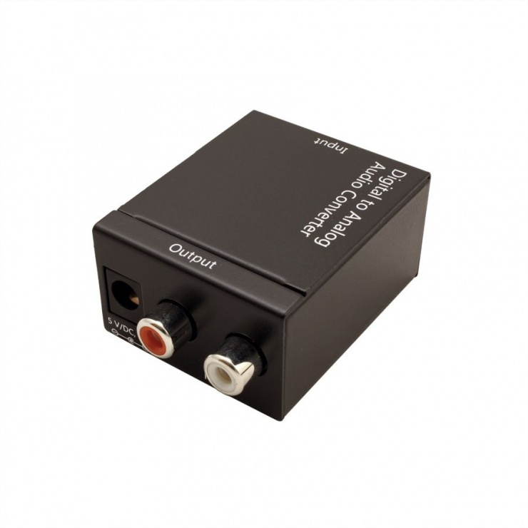 Imagine Convertor audio Digital S/PDIF la Analog RCA, Value 14.99.3441-3