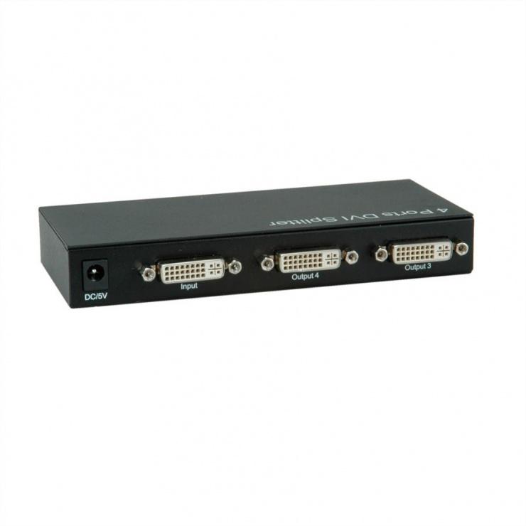 Imagine Multiplicator DVI 4 porturi, Value 14.99.3503-1