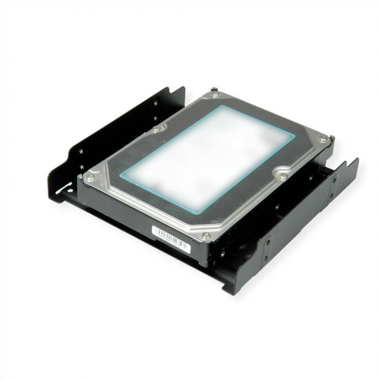 "Imagine Adaptor pentru HDD/SSD 2.5""/3.5""  in bay de 5.25"", Roline 16.01.3010"