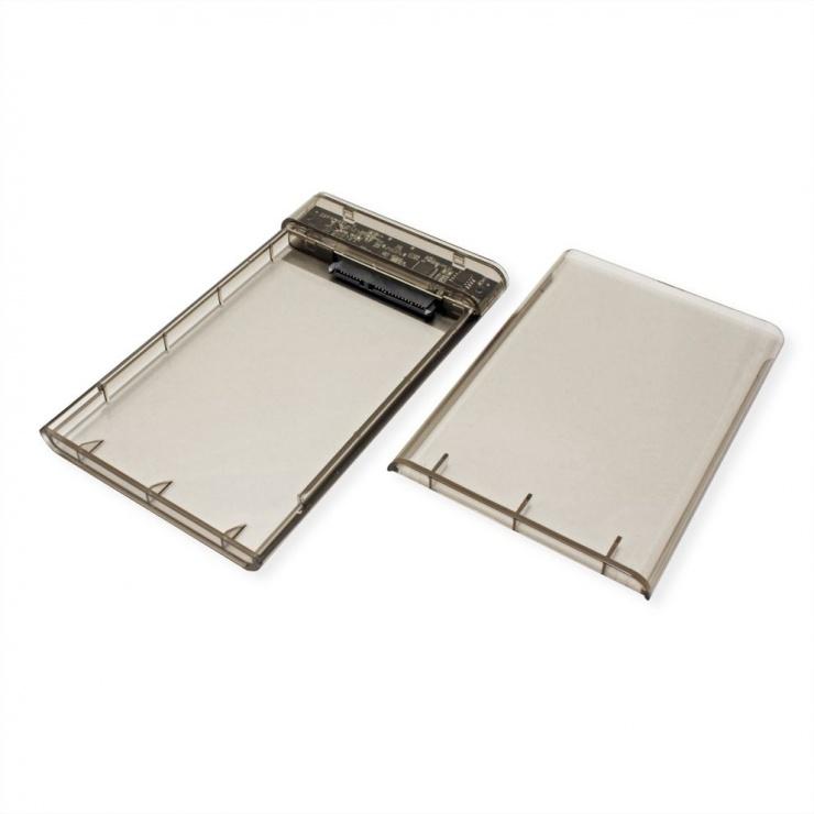 "Imagine Rack extern USB-C 3.1 pentru HDD SATA 2.5"", Value 16.99.4213"
