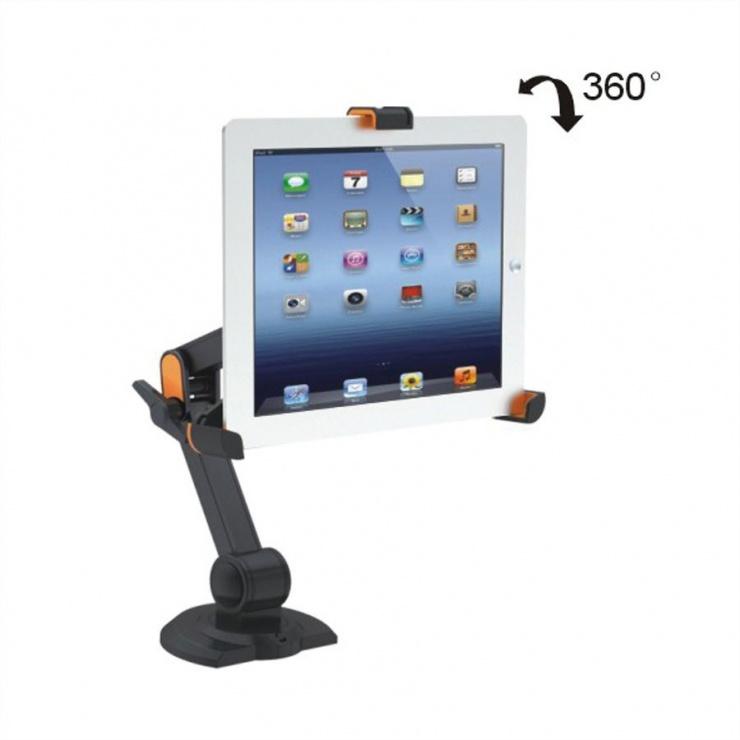 Imagine Suport pentru IPad/Ebook/Tablet, montare perete, Value 17.99.1150-8