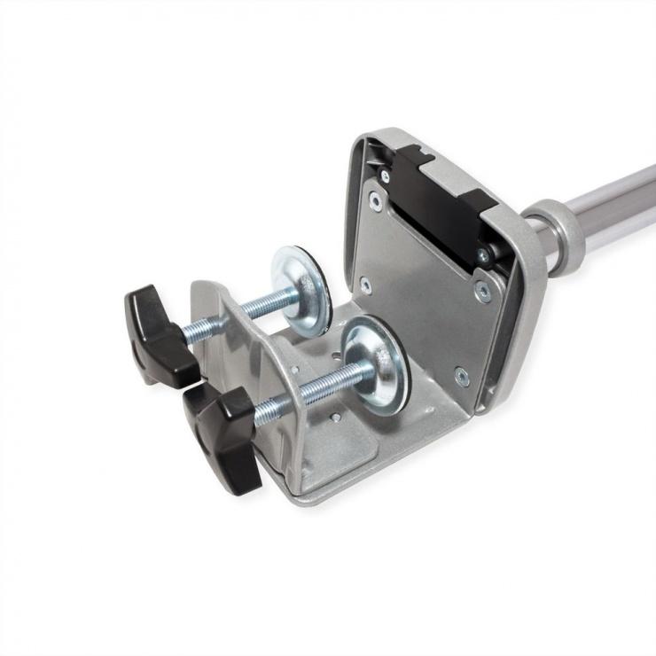 Imagine Suport 3 monitoare cu montare birou Gas spring Argintiu, Value 17.99.1160-1