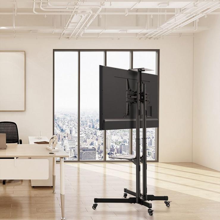 "Imagine Stand podea LCD/TV  37""-50"" Negru, Value 17.99.1167"