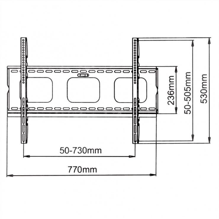 Imagine Suport monitor LCD/Plasma pentru perete, Value 17.99.1214-2