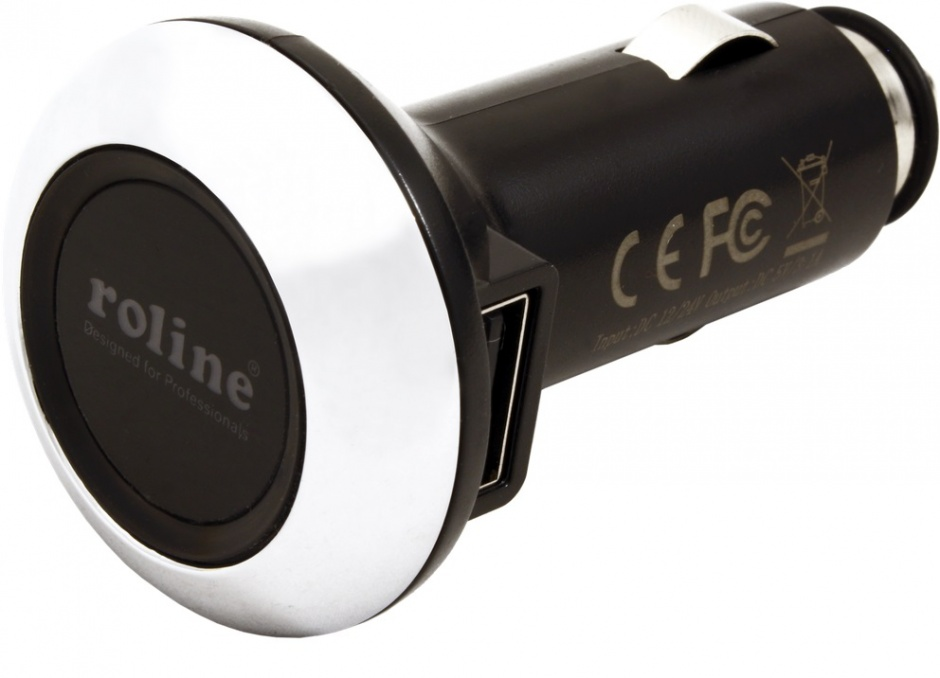 Imagine Incarcator auto 2 x USB LED 15W 3.1A, Roline 19.07.1055