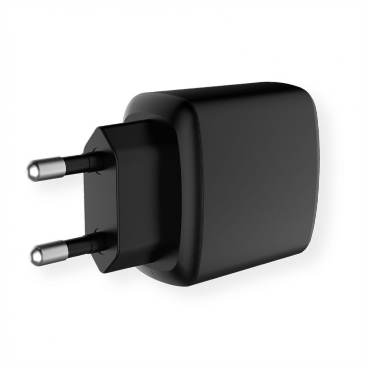 Imagine Incarcator priza cu 1 x USB Quick Charge 3.0 (incarcare rapida) 18W, Value 19.99.1090