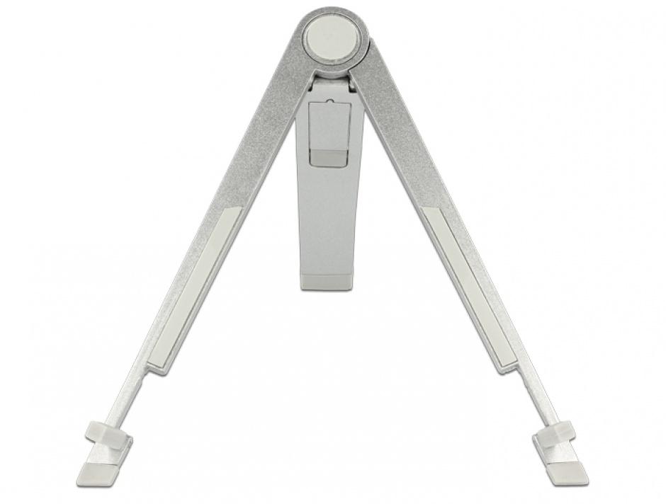 Imagine Stand aluminiu pentru Tablet / iPad / E-Book-Reader, Delock 20646