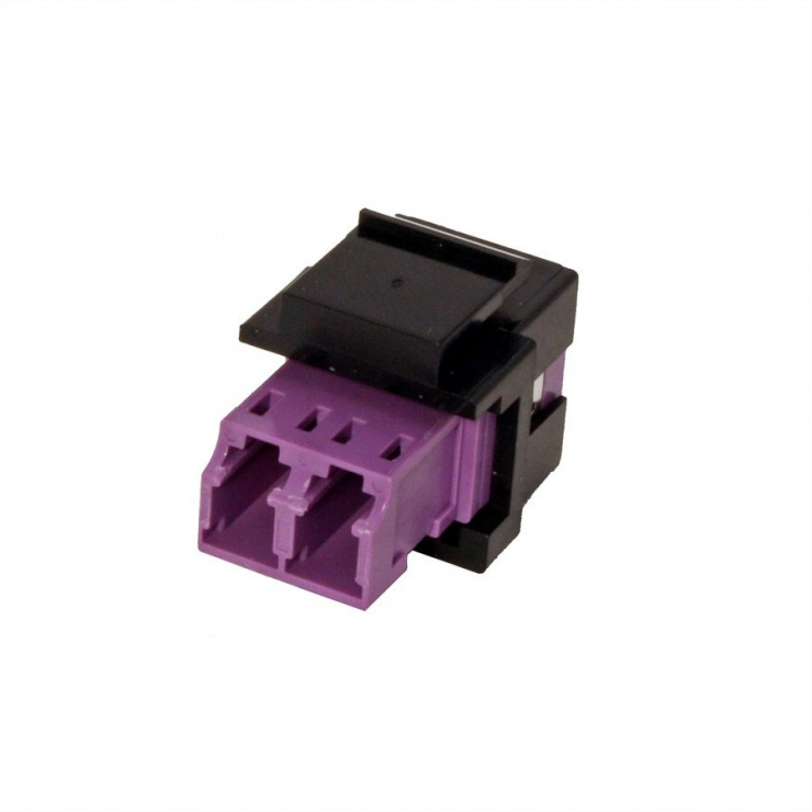 Imagine Keystone fibra optica LC-LC OM4 duplex multimode, Roline 21.17.0002-2