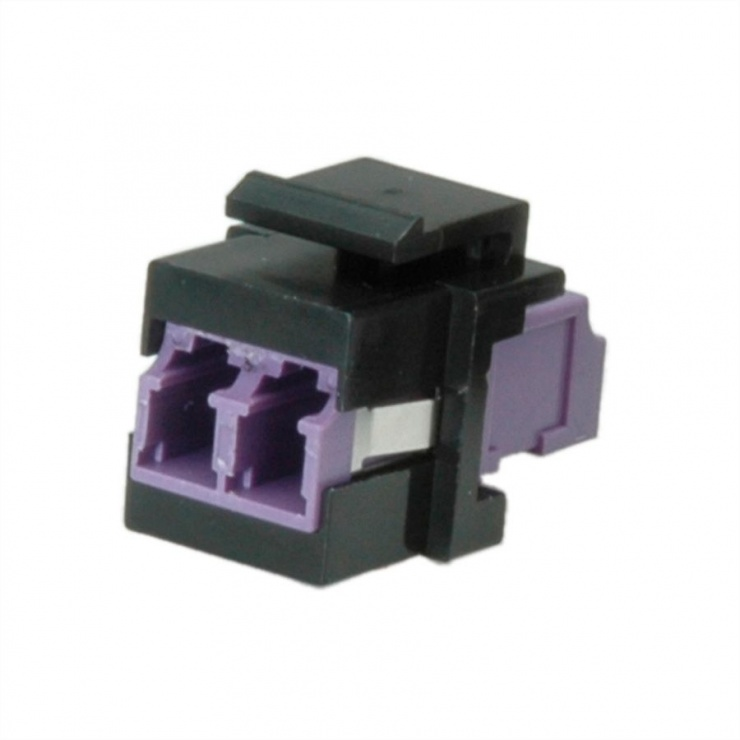 Imagine Keystone fibra optica LC-LC OM4 duplex multimode, Roline 21.17.0002