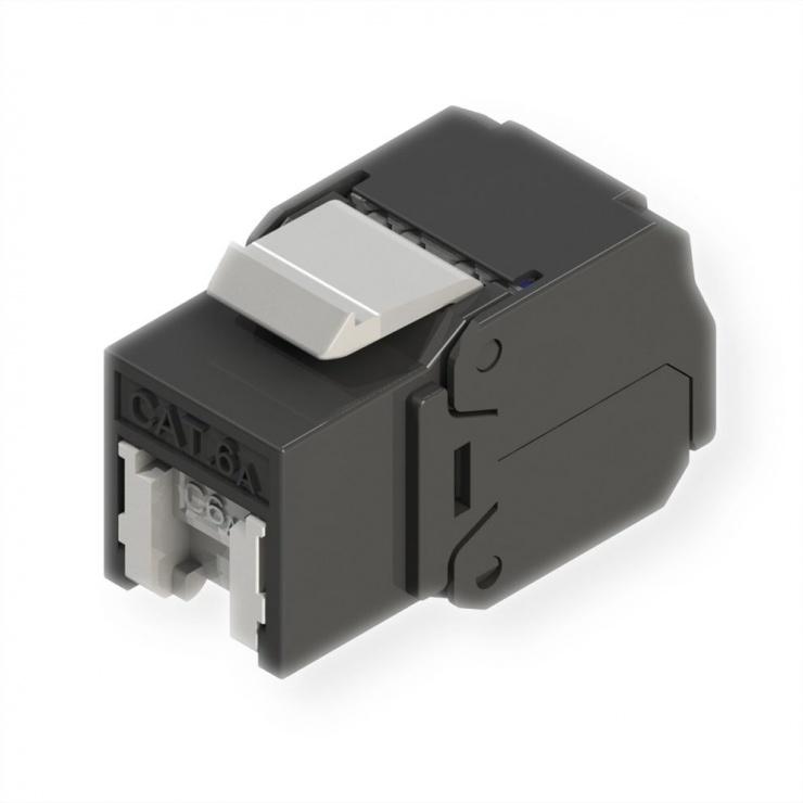 Imagine Keystone RJ45 cat 6A UTP tool-free, Roline 21.17.0320