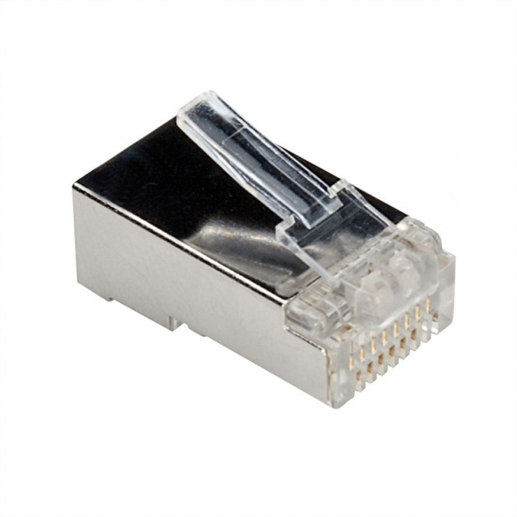 Imagine Set 10 buc mufe RJ45 FTP Cat.6 ecranate, Roline 21.17.3061