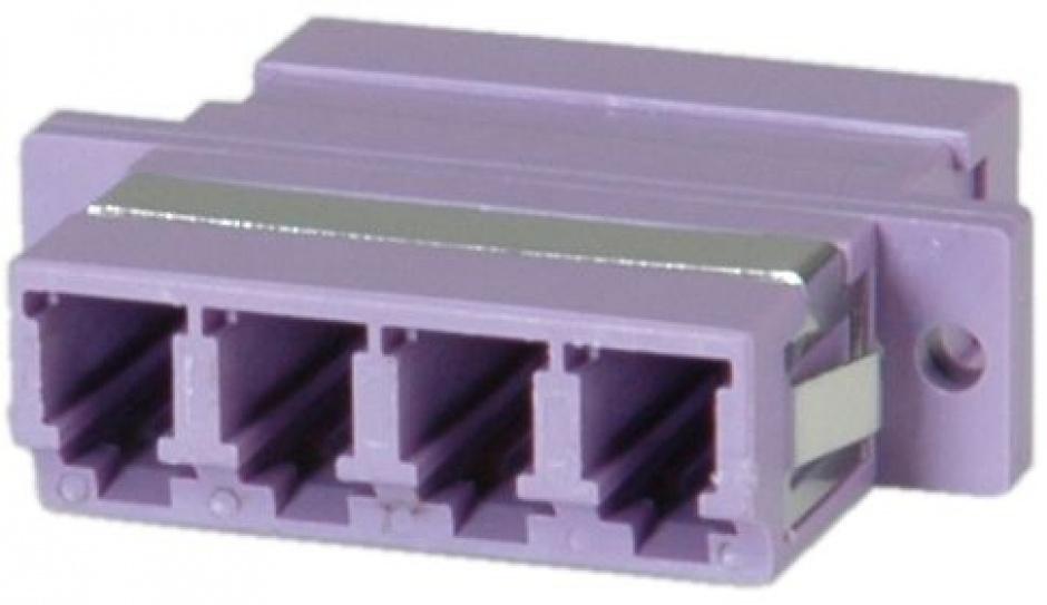 Imagine Adaptor fibra optica LC-LC OM4 cvadruplu, Value 21.99.0661