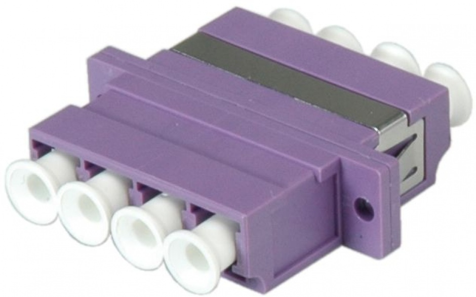 Imagine Adaptor fibra optica LC-LC OM4 cvadruplu, Value 21.99.0661-4