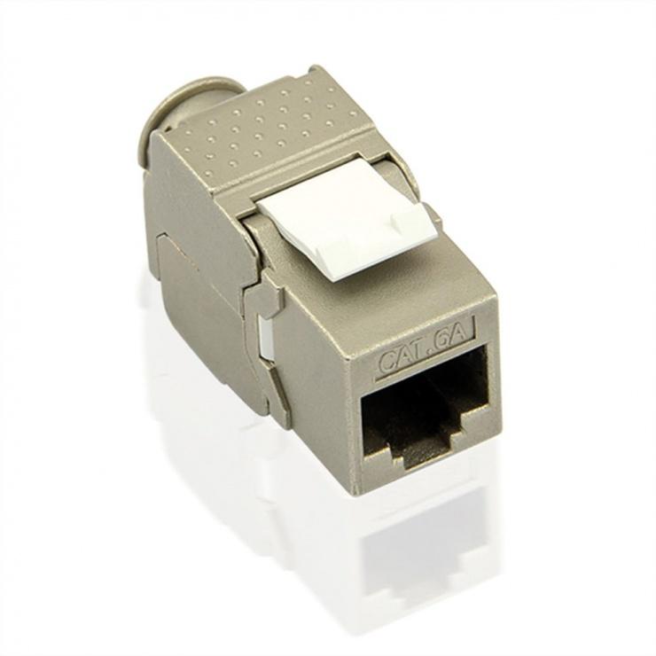 Imagine Keystone RJ45 toolfree Cat 6A ecranata, Value 26.99.0375