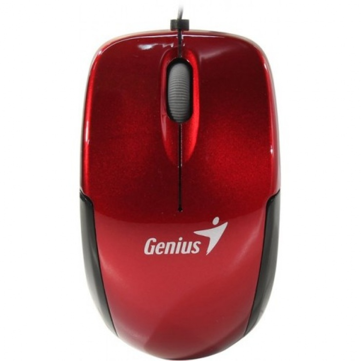 Imagine Mouse notebook Micro Traveler v2 USB Ruby, Genius