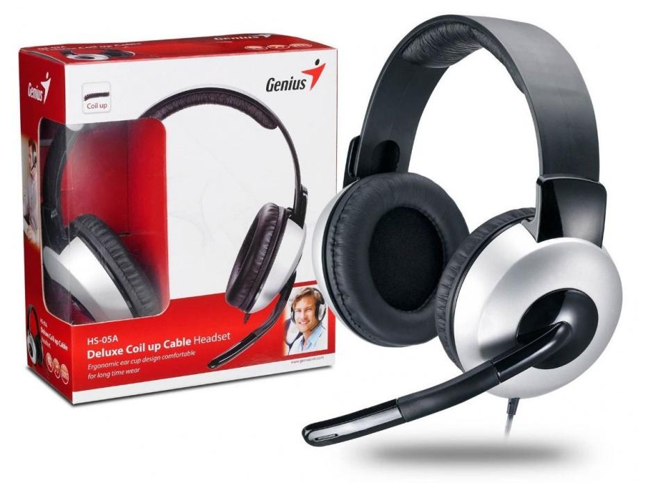 Imagine Casti Genius HS-05A + microfon, 31710011100-1