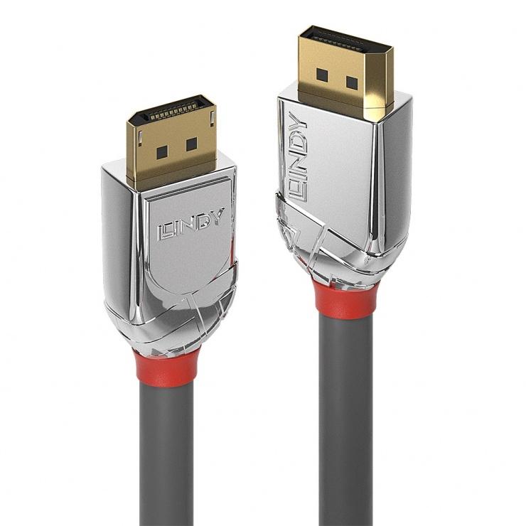 Imagine Cablu DisplayPort 8K / 4K@160Hz T-T v1.4 Cromo Line 2m, Lindy L36302