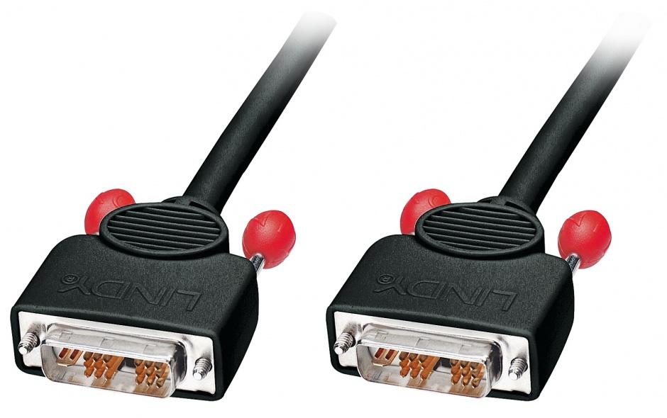 Imagine Cablu DVI-I Single Link 5m T-T Negru, Lindy L41273
