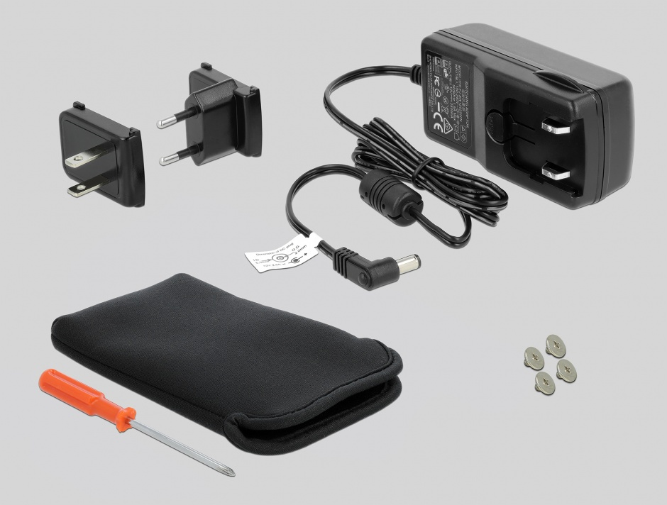 "Imagine Rack extern Thunderbolt la HDD SATA 2.5"" 15mm, Delock 42490"