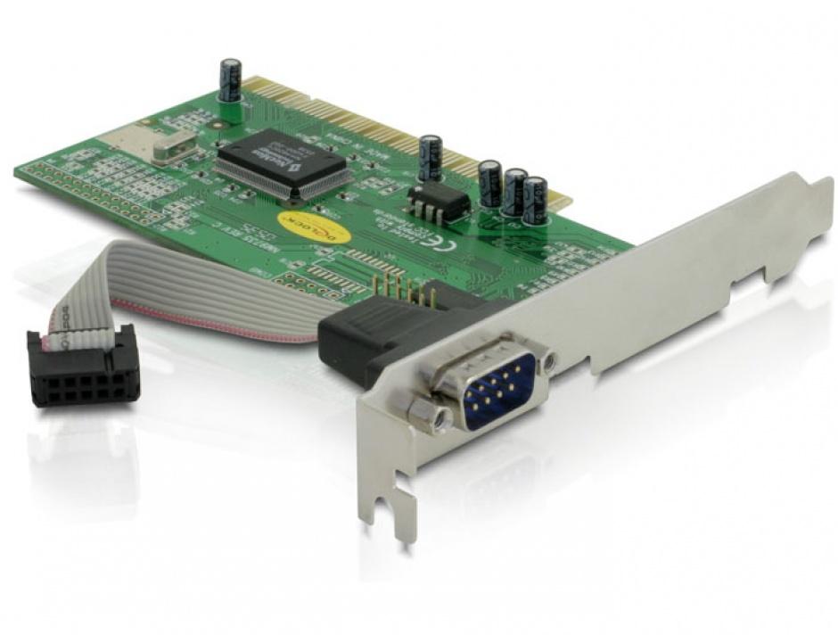 Imagine PCI cu 1 port Serial RS232, Delock 89056