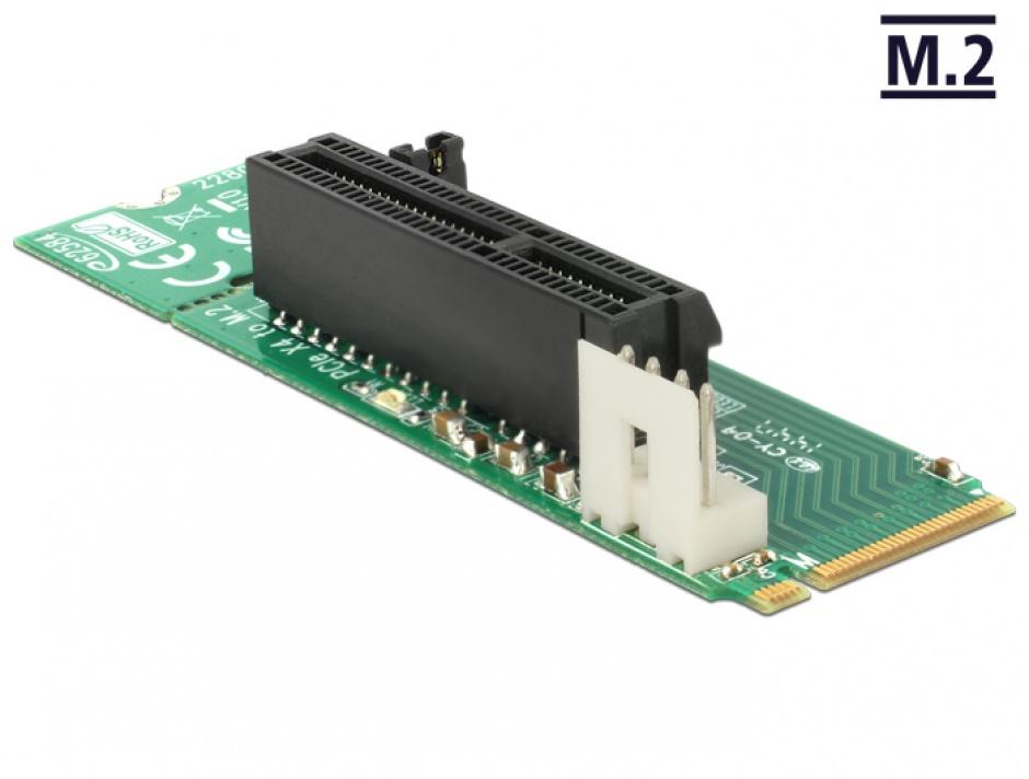 Imagine Adaptor M.2 Key M la slot PCI Express x4, Delock 62584