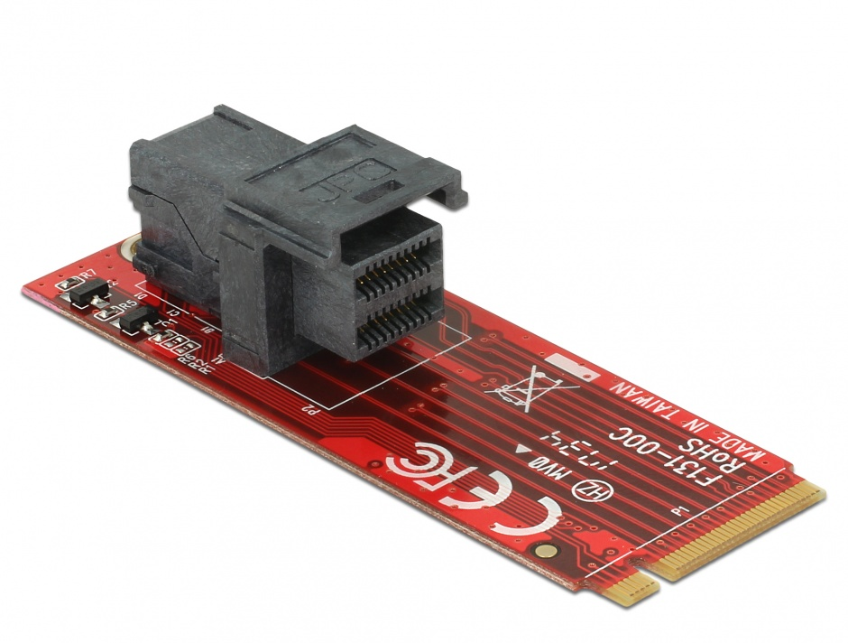 Imagine Adaptor M.2 Key M la SFF-8643 NVMe, Delock 62721