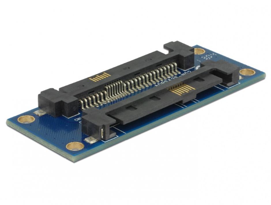 Imagine Adaptor SAS SFF-8482 T-T, Delock 62908