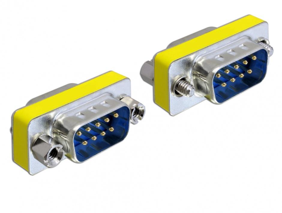 Imagine Adaptor Serial 9 pini T-T, Delock 65009