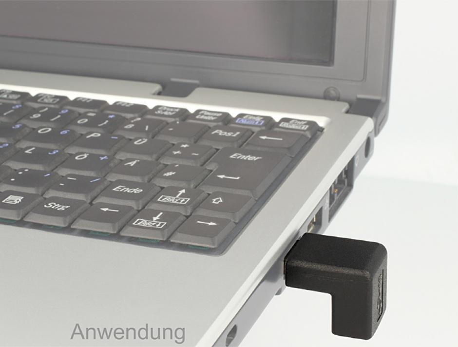 Imagine Adaptor USB 3.0 in unghi 270 grade T-M, Delock 65340